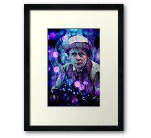 The Seventh Doctor Framed Print