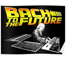Bach To The Future. Poster