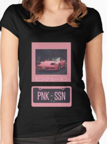 PNK SSN Women's Fitted Scoop T-Shirt