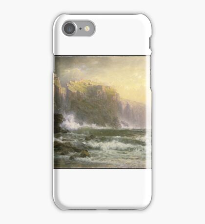 William Trost Richards (American, ). The League Long Breakers Thundering on the Reef iPhone Case/Skin