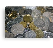 Loose Change Metal Print