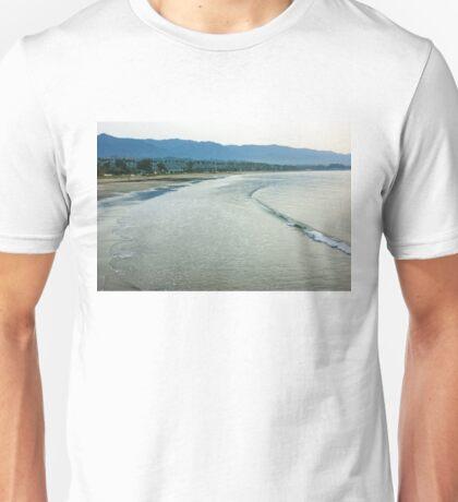 Ocean Silk - a Peaceful Santa Barbara Seascape  Unisex T-Shirt