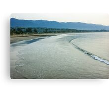 Ocean Silk - a Peaceful Santa Barbara Seascape  Canvas Print