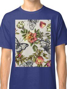Butterflies and flowers Classic T-Shirt