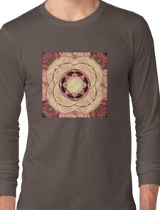Psychedelic Pattern Long Sleeve T-Shirt