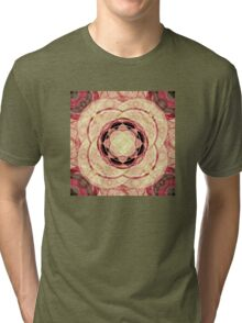 Psychedelic Pattern Tri-blend T-Shirt