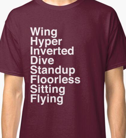 Types Classic T-Shirt