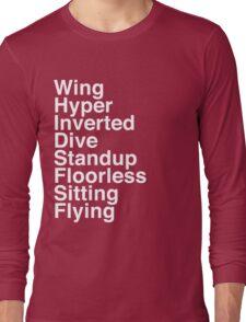 Types Long Sleeve T-Shirt