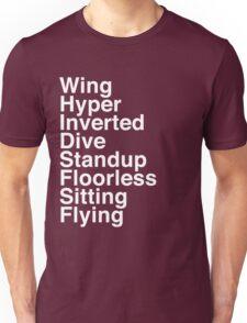 Types Unisex T-Shirt