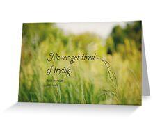 Try Louisa May Alcott Greeting Card