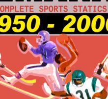 BTTF: Sports Almanac Sticker