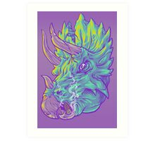 Tri and the Stogie Art Print