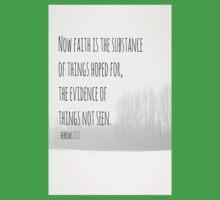 Hebrews 11 Faith Kids Tee