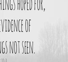 Hebrews 11 Faith Sticker