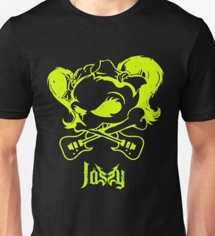 Jassy JJ's One Girl Band - GREEN SKULL by Mien Wayne Unisex T-Shirt