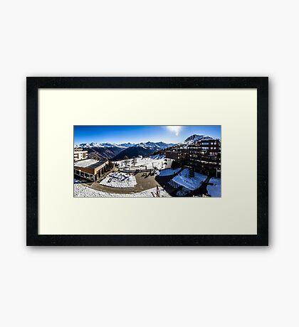 Thyon 2000 Panorama Framed Print