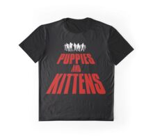 PUPPIES AND KITTENS Graphic T-Shirt