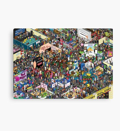 The Picture Of All Canvas Print