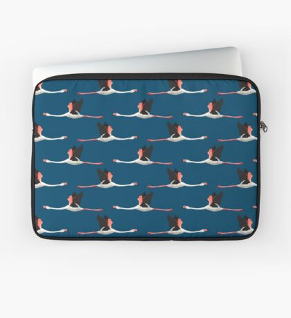 Pattern with flamingos Laptop Sleeve