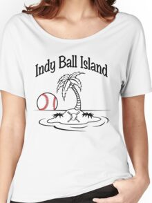 Indy Ball Island Women's Relaxed Fit T-Shirt