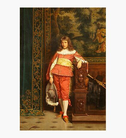 The Handsome Nobleman by Charles Joseph Frederic Soulacroix Photographic Print