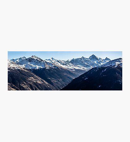 Thyon  Day Panorama 2 Photographic Print
