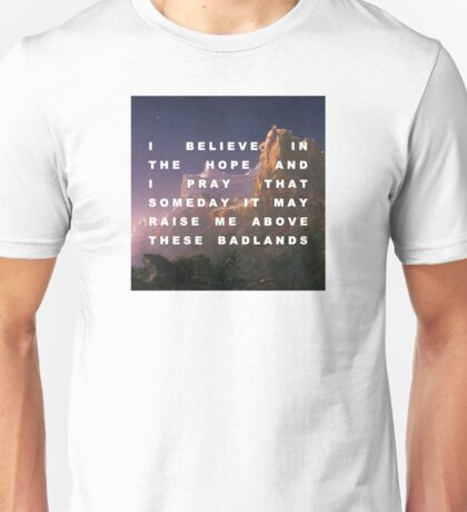 Prometheus Bound to the Badlands Unisex T-Shirt