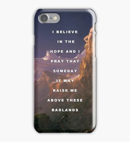 Prometheus Bound to the Badlands iPhone Case/Skin