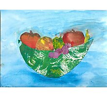 Colorful Fruit! Photographic Print