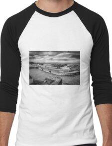 Ballintoy Harbour Men's Baseball ¾ T-Shirt