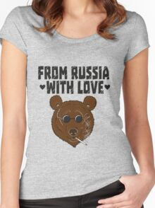 From Russia with LOVE Women's Fitted Scoop T-Shirt