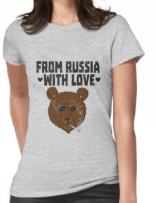 From Russia with LOVE Womens Fitted T-Shirt