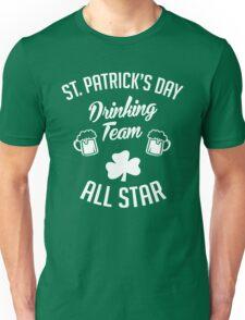 St Patrick's Day Drinking Team Unisex T-Shirt