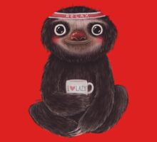 Sloth I♥lazy Kids Clothes