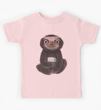 Sloth I♥lazy Kids Tee