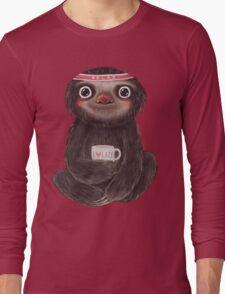 Sloth I♥lazy Long Sleeve T-Shirt