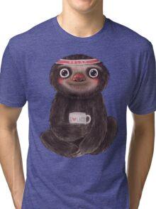 Sloth I♥lazy Tri-blend T-Shirt