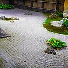 Kyoto Temple:Tranquility by Sue Ballyn