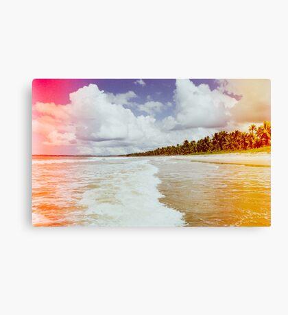 Pristine Brazilian Beach Shot on Film Canvas Print