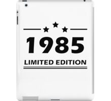 1985 LIMITED EDITION iPad Case/Skin