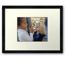 Children on the Playground Framed Print