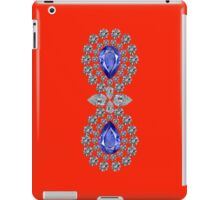 Orange Red Double Sapphire Ipad Case iPad Case/Skin