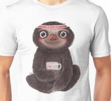 Sloth I♥yoga Unisex T-Shirt