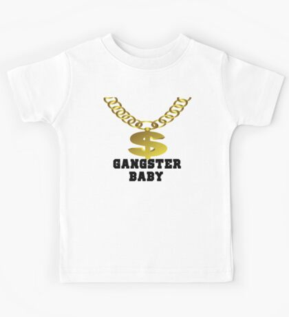 Gangster Baby Rappers and Old school Rap lovers  Kids Tee