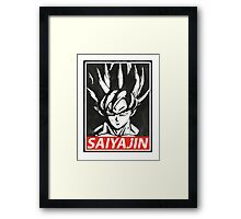 SUPERSAIYAJIN FANART by Mien Wayne Framed Print