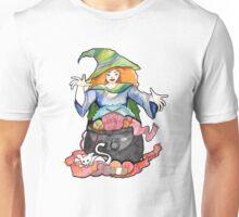 Knitting Witch  Unisex T-Shirt
