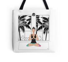 Yoga Girl.. Tote Bag