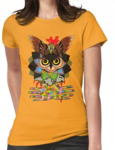 The owls are still not what they seem Womens Fitted T-Shirt