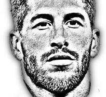 Sergio Ramos Sketch  by RidahOO