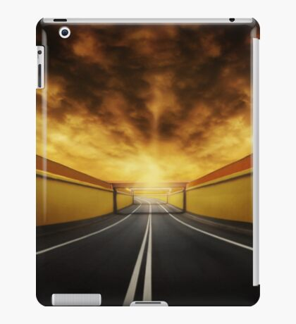 Vacant iPad Case/Skin